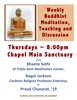 Buddhist Meditation Fall 2018