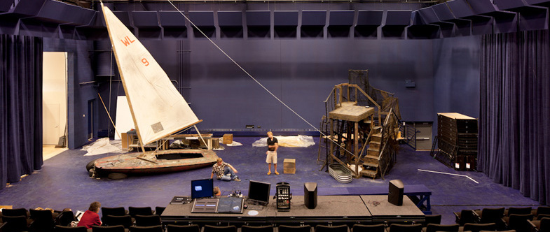 Tempest Set Design in Theater