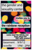 Rainbow Reception, 9/9/12, 1-2 PM in GSC (Basement Scoville)