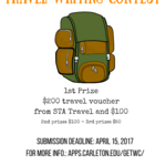 Global Experience Travel Writing Contest