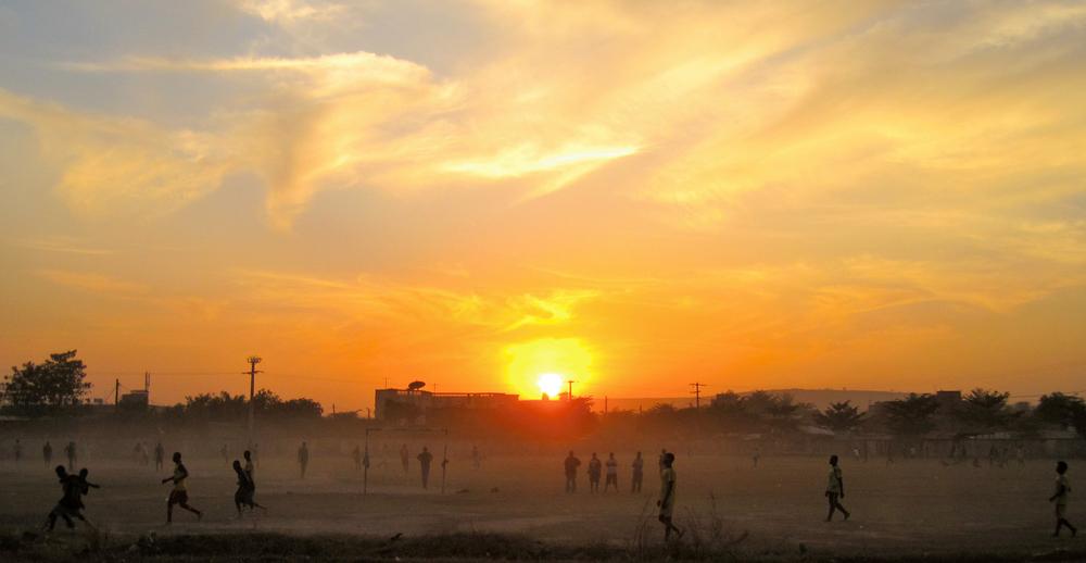 Sunset in Mali