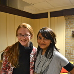 Kaylin Land '15 and Sofia Shrestha '15