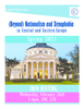 (Beyond) Nationalism and Xenophobia in Europe Information Session