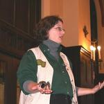 Guest Speaker: Joy Norquist and her tarantula, Curly