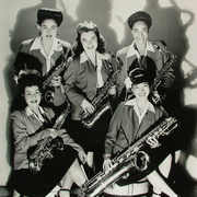 The Sax Section of The International Sweethearts of Rhythm