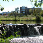 Campus Waterfall
