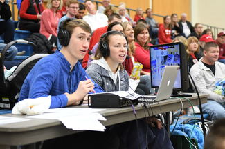 Student broadcasters