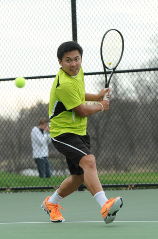 Andrew Hwang '15 earned the MIAC Arthur Ashe Award for his outstanding career on and off the court.