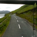 Driving to Louisburgh