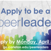 Apply to be a Peer Leader