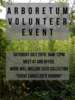 Volunteer event 7/20/19
