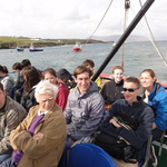 Leaving Clare Island