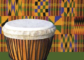 West African DrumF16