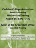Volunteer to Collect Seeds in the Arboretum! August 16, 6:00 - 7:30 p.m.
