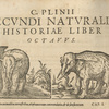 Historia mundi naturalis, Pliny the Elder