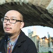 Image of poet and spoken word artist, Bao Phi.