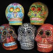 Day of the Dead Skull Masks