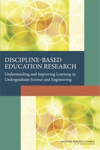 NRC Discipline-based Education Research Report