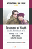 IFF presents Testament of Youth on 11/5 at 7pm in Weitz Cinema