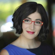 Iranian-American comedian and author Negin Farsad.