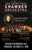 10/31 St Paul Chamber Orchestra Poster
