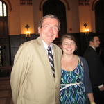 Prof. Roy Grow and Katie Kaemmer '11
