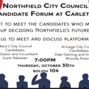 Northfield City Council Candidate Forum