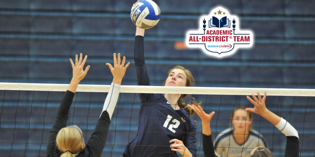 Ridgway Selected to CoSIDA Academic All-District First Team
