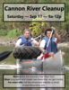 Help Clean up the Cannon River!