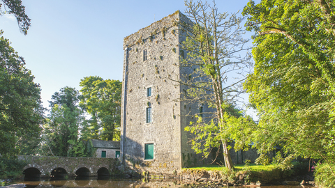 Yeats' Tower, a 15th-century castle that Yeats restored.