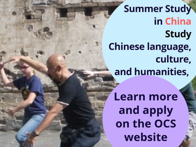 Summer Study in China