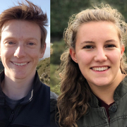 Will Schwarzer '20 and Sarah Finstuen-Magro '20, Goldwater Scholarship recipients
