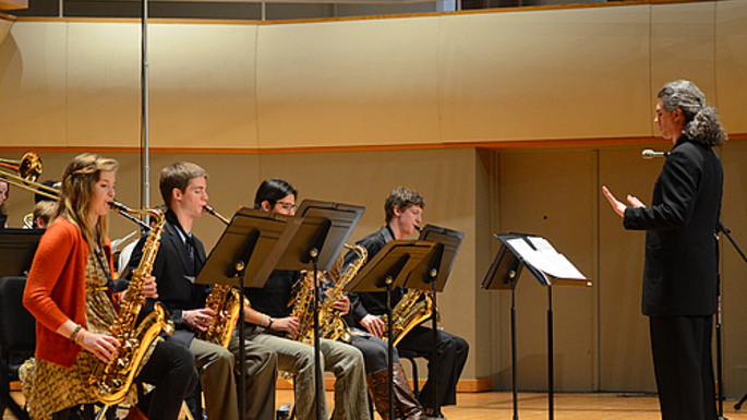 Carleton Jazz Ensemble and director, David Singley