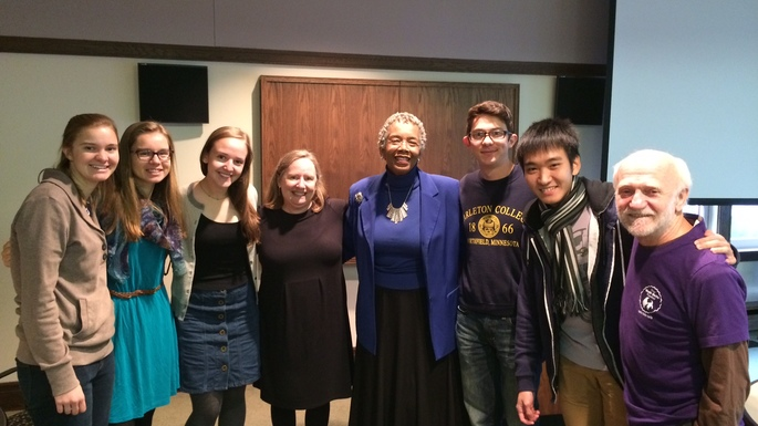 Dr. Saundra McGuire spoke with Carleton students about the value of metacognition