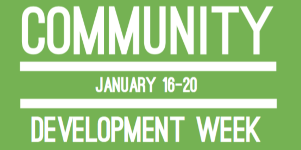 Community Development Poster