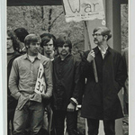 Students protesting the Vietnam War