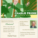 Charlie Priore's trading card, 2012-2015