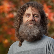 Portrait of author & neuroscientist, Robert Sapolsky.
