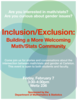 Inclusion/Exclusion Meeting