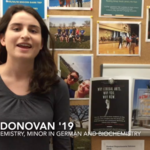 Eavan Donovan '19 talks about studying and interning in Berlin, Germany