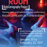 FELT ROOM BodyCartography poster