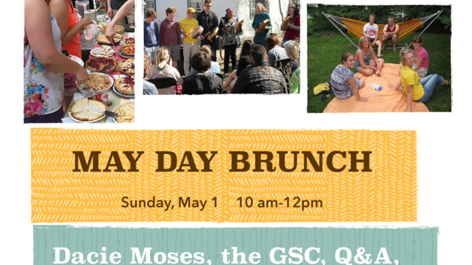 Join Dacie Moses, the GSC, Q&A, and WA House for a May Day Brunch