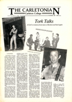 An interview with Peter Tork by Sam Delson '82, published Nov. 12, 1982 in The Carletonian.