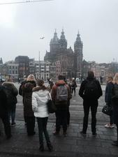 Students on the Ghana program in Amsterdam