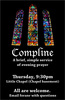Fall 2011 Compline Poster