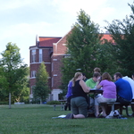 The campus hosts alternative meeting spaces for teachers to enjoy summer!