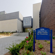 Exterior of the Weitz Center for Creativity