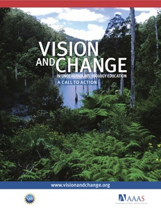 Vision and Change in Undergraduate Biology Education