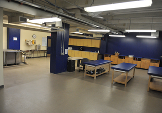 Laird Stadium athletic training room