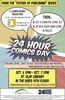 24-Hour Comics Day at St. Olaf, Oct. 6-7, 2017